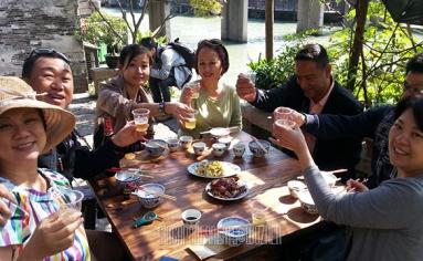 Wuzhen cheers